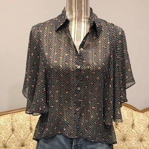 Tops - Button down blouse